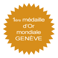 1�re m�daille d'or mondiale Gen�ve